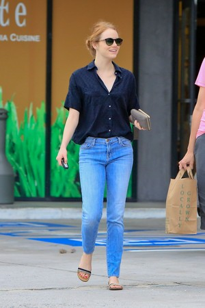 Emma Out in Malibu