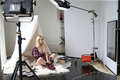 Emma Roberts ~ Behind-the-Scenes of #AerieREAL Photoshoot