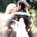 Emma and Hook - once-upon-a-time fan art