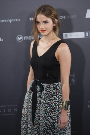 Emma at the Regression Photocall in Madrid, August 27 2015