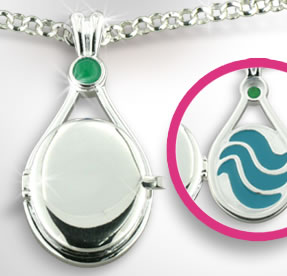 Emma s Locket h2o just add water 25581692