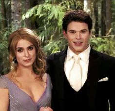 Emmett and Rosalie at Edward and Bella's wedding