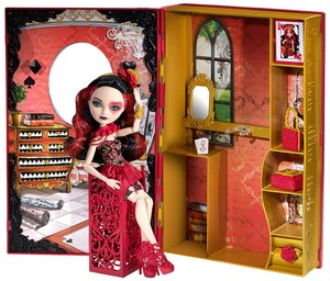 Ever After High Lizzie Hearts doll.