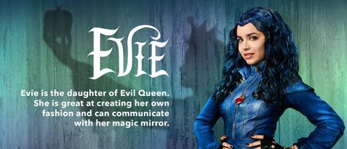 Descendants Hintergrund entitled Evie