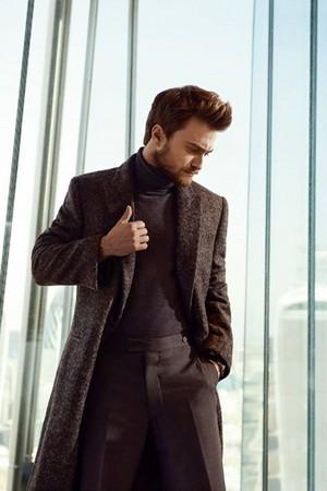 Exclusive: Daniel Radcliffe InStyle Magazine (Russia) (fb.com/DanielJacobRadcliffeFanClub)