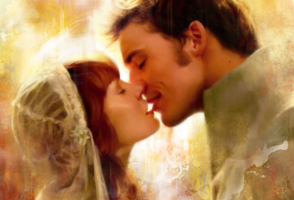 Finnick/Annie Wedding Painting - Finnick & Annie Fan Art ...