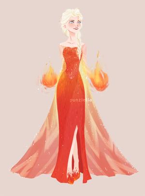 آگ کے, آگ Elsa
