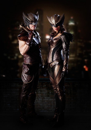 First Look at Hawkman and Hawkgirl