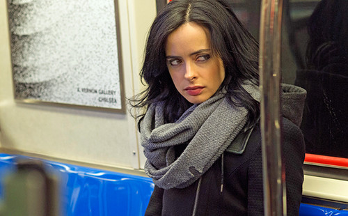 Netflix Hintergrund called First Fotos of Marvel's 'Jessica Jones'