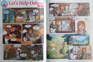 Frozen Comic - Let's Help Oaken!