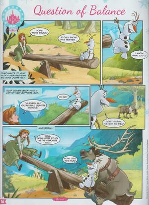 Frozen - Uma Aventura Congelante Comic - pergunta of Balance