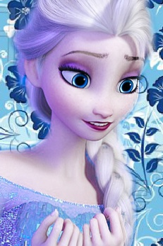 Frozen Elsa phone پیپر وال