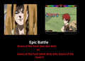 Gaara of the Funk vs Gaara of the Sand - gaara-of-suna fan art