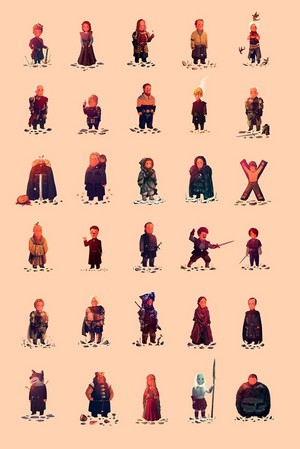 Game Of Thrones Charactres