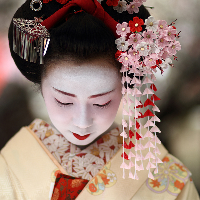 geisha and image