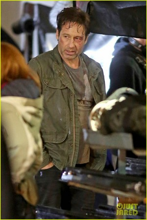 Gillian Anderson and David Duchovny Wrap 'X-Files' Filming!