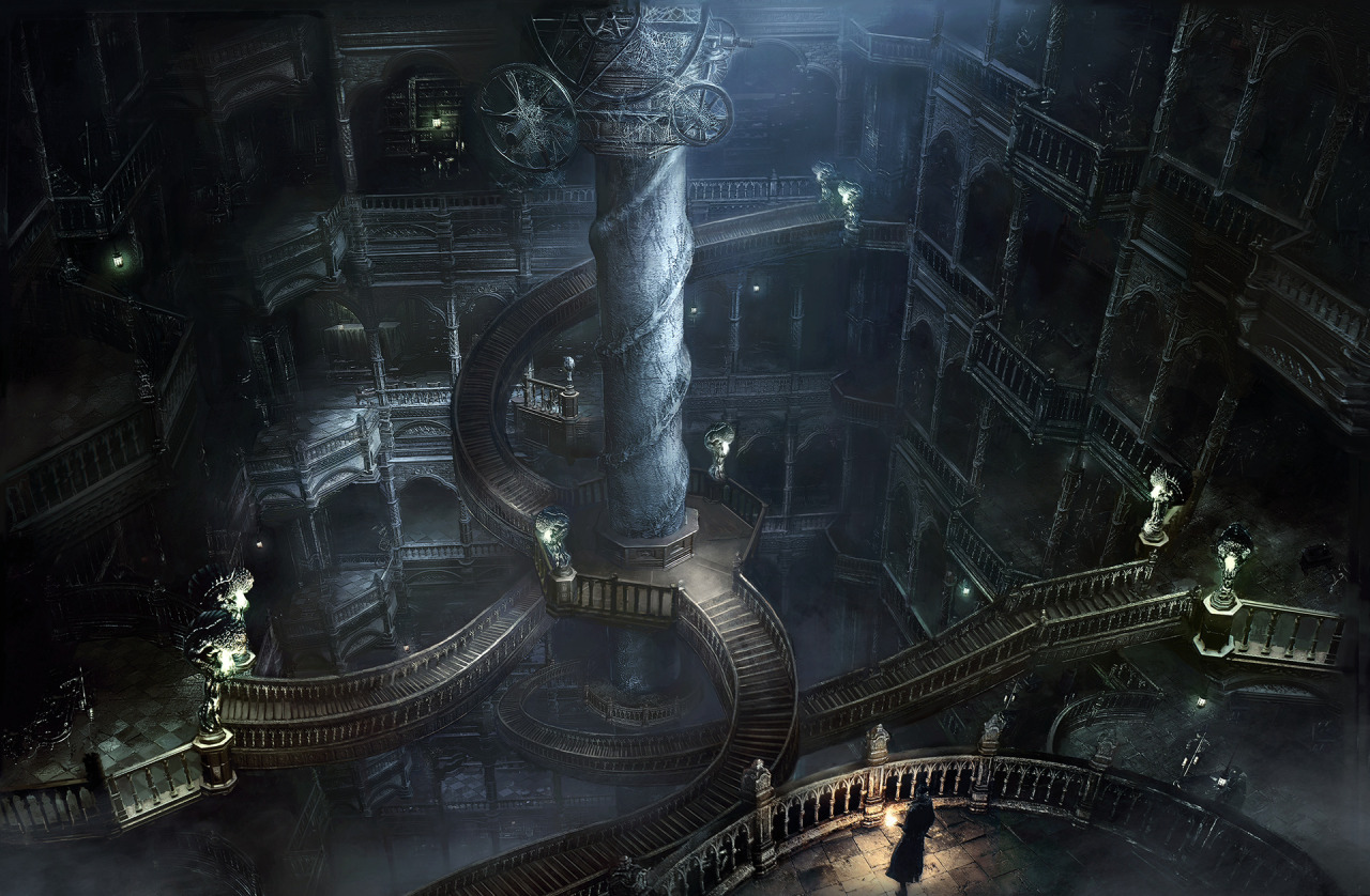 Bloodborne Images Gothic Stairway Hd Wallpaper And Background Photos 38867104