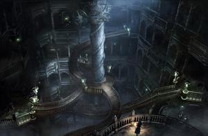 gótico Stairway