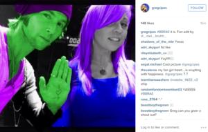 Greg Cipes on Instagram BBRae it is.