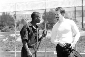 Guy Torry as Lamont and Edward Norton as Derek Vinyard