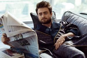 HD: Daniel Radcliffe photoshoot sejak Alan Clarke for InStyle (Fb.com/DanielJacobRadcliffeFanClub)