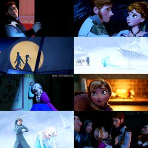 Hans, Anna, Elsa