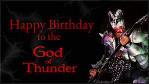 Happy Birthday Gene Simmons ~August 25, 1949