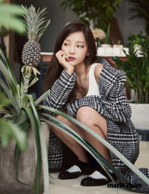 Hara for Marie Claire, september 2015 issue
