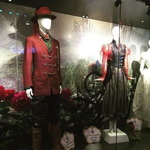 Hatter's and Alice's costumes from D23 Expo 2015