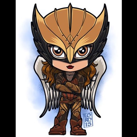 DC's Legends of Tomorrow Hintergrund possibly with Anime entitled Hawkgirl