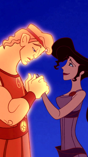 Hercules and Meg phone achtergrond