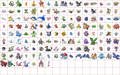 Hoenn Pokemon Sprites From Pokemon BW