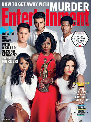 How To Get Away With Murder Cover on Entertainment Weekly