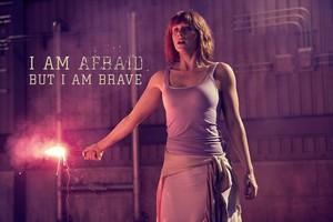 I Am Afraid, But I Am Brave