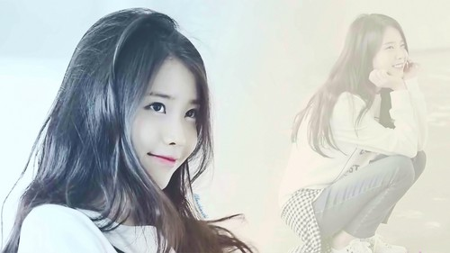 iu wallpaper containing a portrait and attractiveness entitled iu wallpaper 1920x1080