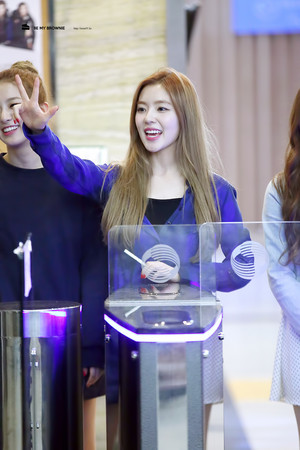 Irene laughing