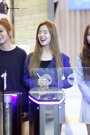 Irene laughing