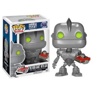 Iron Giant with Car Pop! Vinyl Figure