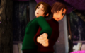 Italy and Romano back to back - hetalia photo