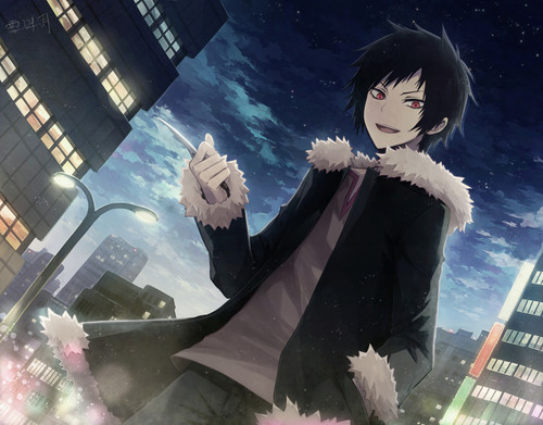 Sexy, hot anime and characters karatasi la kupamba ukuta entitled Izaya Orihara