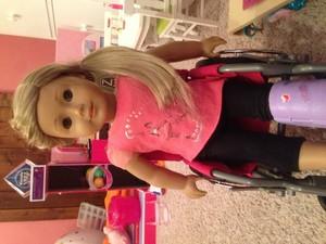 Izzy broke her leg