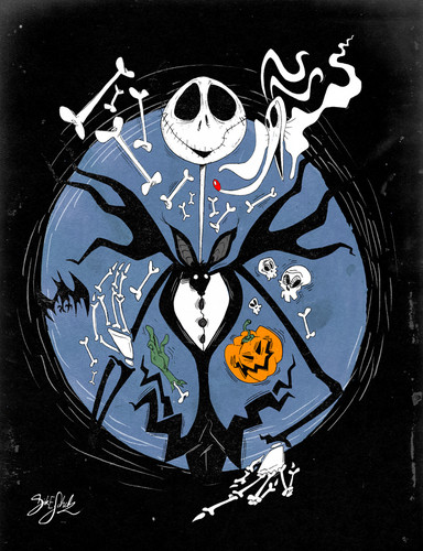 Nightmare Before Christmas wallpaper titled Jack Skellington