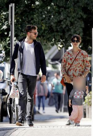 Jamie Dornan, Amelia Warner, Dulcie Dornan spotted in London on September, 10