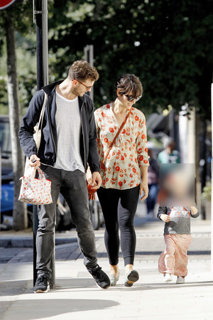 Jamie Dornan, Amelia Warner, Dulcie Dornan spotted in London on September, 10