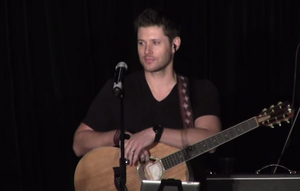"Jensen Ackles Singing ""Simple man"""