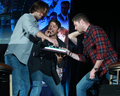 Jensen, Jared and Misha - jensen-ackles photo