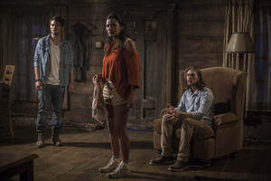 Jessica Lucas as Olivia in Evil Dead