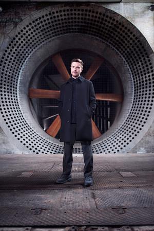 Joe Dempsie Photoshot for British GQ