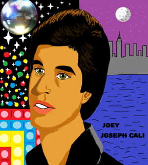 Joey cartoon Saturday Night Fever