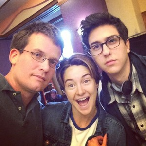 John, Nat and Shailene